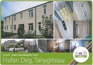 Refurbished Flats at Hafan Deg, Tanygrisiau